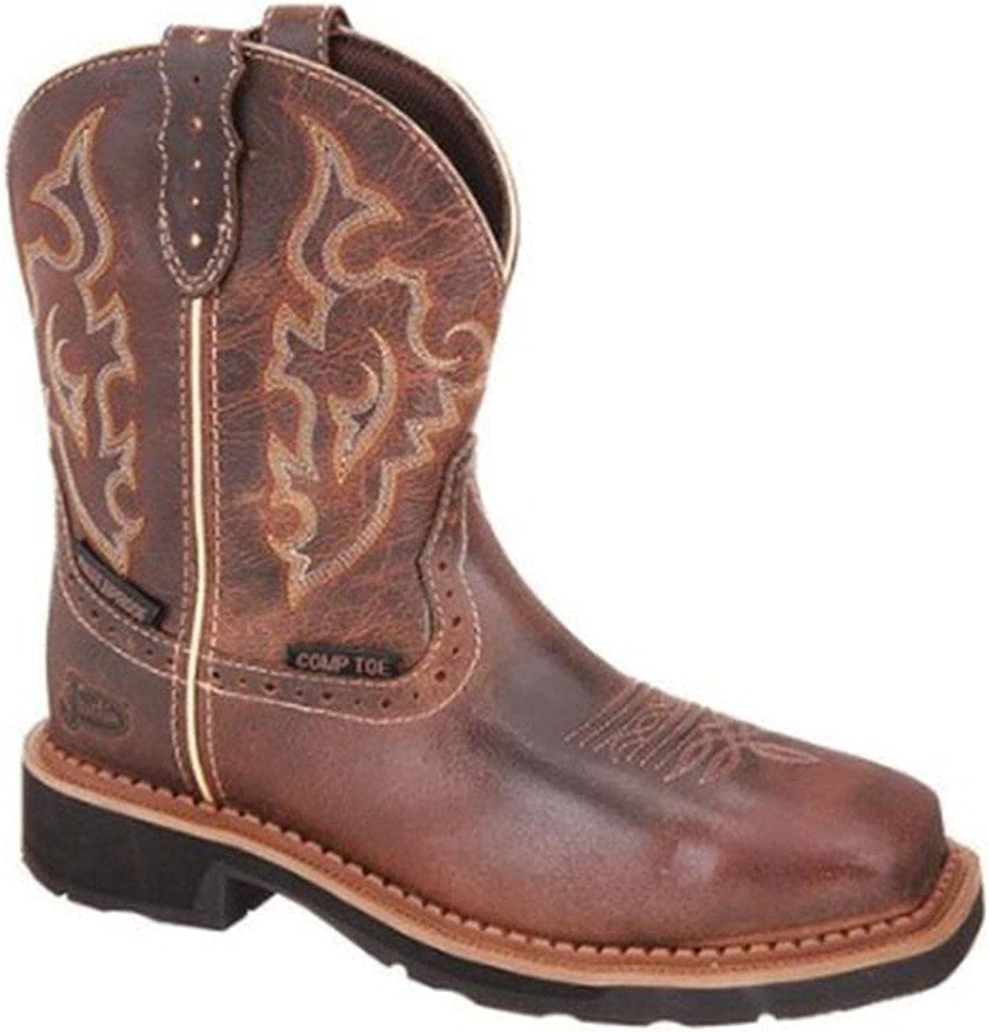 Justin Women's Jalena Western Work Boot Composite Toe - Gy9978