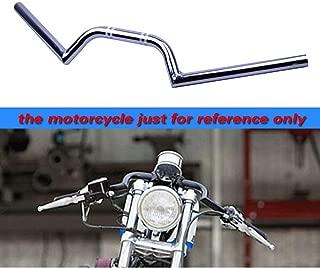 AnXin 31-53 mm 7//8 Manillar de Motocicleta con Clip Manillar Barras reemplazables CNC Tenedor Tubo Cafe Racer Clip On Regular Moto