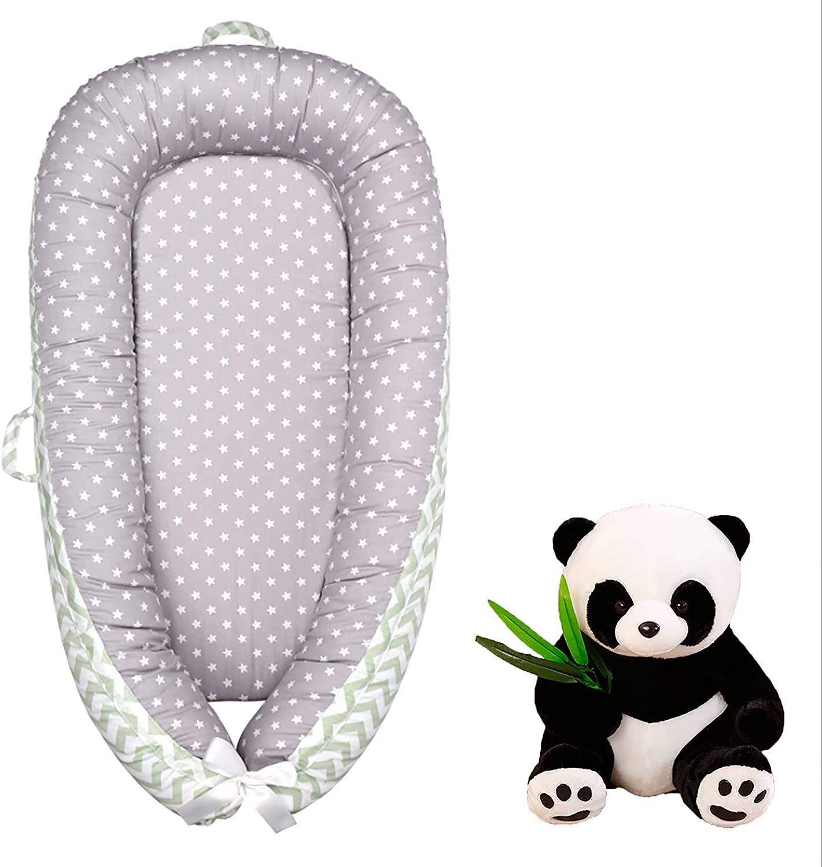 New Houston Mall Baby nest Recliner Super Soft Sale item Portable Cradle Nece