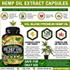 Hemp Oil Capsules XXL 2,000,000 - Ashawagandha and Melatonin Supplement - Anxiety, Stress, Joint, Lower Knee, Neck Pain Relief - Sleeping and Mood Support Pills - Made in The USA #3