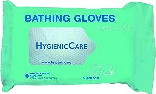 Dr Helewa Care 超软手套,两侧均预潮,带清洁和保护乳液,12 支装