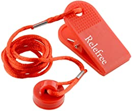 RelefreeUniversal Sports Running Machine Safety Safe Key Treadmill Magnetic Security Round Switch Lock Fitness Red Useful New