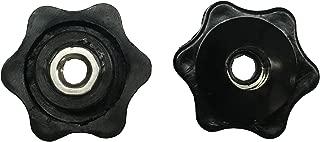 Fluted Nylon Knobs 1/4-20 Thread (Pack of 6) Thumler's Tumbler