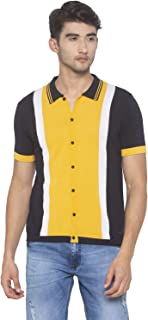 Globus Yellow Solid Shirt