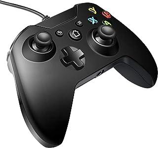 وحدة تحكم سلكية من فيكسينا، متوافقة مع إكس بوكس ون/ون إس/ون إكس /ون إليت / ويندوز 10، وحدة تحكم بالألعاب PC مع مقبس سماعة ...