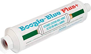 Garden Hose Water Filter for RV and Outdoor use - Removes Chlorine, Chloramines, VOCs, Pesticides/Herbicides Boogie Blue P...