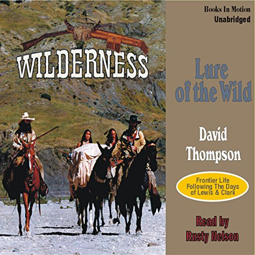 Lure of the Wild audiobook cover art