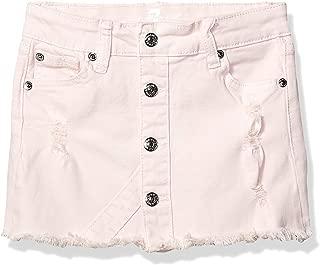 7 For All Mankind Girls' Little Stretch Denim Mini Skirt