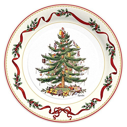 Christmas Tree Party Paper Plates
