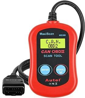 Autel MS300 OBD2 Scanner Code Reader, Turn Off Check Engine Light, Read & Erase