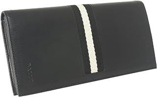 [バリー] BALLY バリー 長財布 6166474 TALIRO 290 二つ折り長財布 折りたたみ 長財布 ウォレット ブラック TRAINSPOTTING BLACK ブラック 黒 かぶせ蓋 フラップ [並行輸入品]