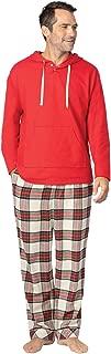 Mens Pajamas for Men Mens Flannel Pajamas Sets, Multicolored