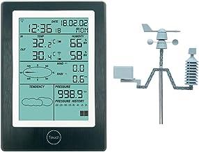 Fenteer Estación Meteorológica Bluetooth Solar Medidor De Humedad Del Sensor De Pronóstico