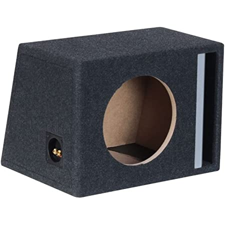 Basstunnel Subwoofer Leergehäuse 10 25cm 35l Audio Hifi