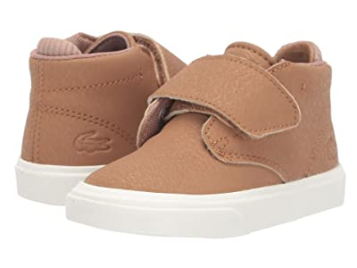 Lacoste Kids Esparre Chukka 319 1 (Toddler/Little Kid) (Light Brown/Off-White) Kid