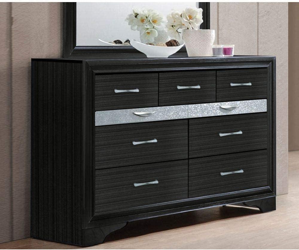 Pumpumly Milwaukee Mall Naima Dresser 25905 Special price Black in