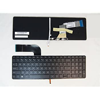 ndliulei New US Black Backlit Keyboard Replacement for Dell Precision 3530 M3530 7530 M7530 M7730 7730 Light Backlight Without Frame
