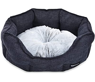AmazonBasics Cuddler Pet Bed - Soft and Comforting