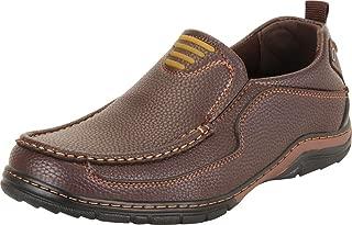 Cambridge Select Men's Slip-On Driving Moccasin Loafer