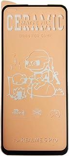 شاشة حماية من السيراميك غير اللامع لموبايل اوبو ريلمي 6 برو - اللون اسود