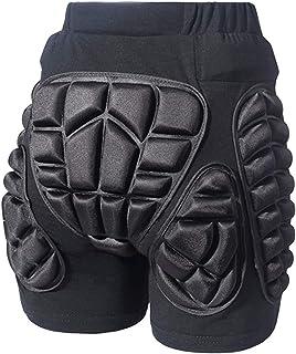 COOLOMG サッカーゴールキーパーウエア インナーシャツ長袖 プラスチックフォームパッド ケガ防止・胸・肩・肘保護衝撃防止 メンズ