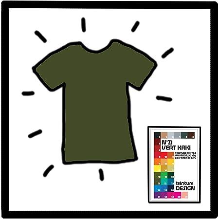 Teinture Design - Tinte textil, color verde caqui