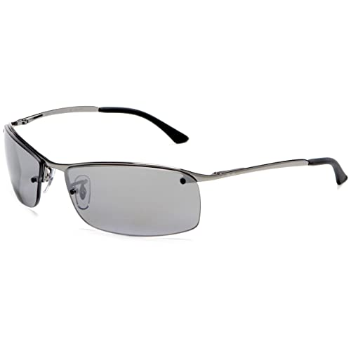 Ray-Ban Lunette de soleil RB3183P Top Bar Rectangulaire 2ffdb23b3b34