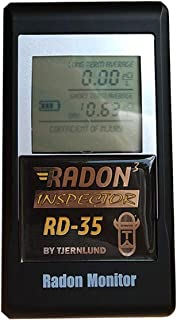 Tjernlund 9873739 Radon Inspector 3 Detector, Premium Gas Monitor, Instant Tester for Family Home Safety