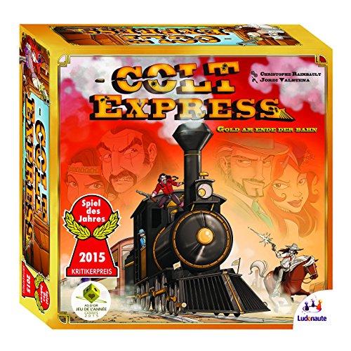 Asmodee Colt Express, Grundspiel, Familienspiel, Strategiespiel, Deutsch