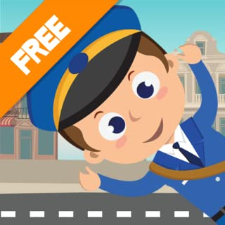 Help Little Postman post his mail! Games for Kids