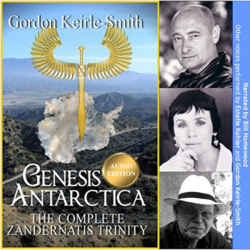 Genesis Antarctica audiobook cover art