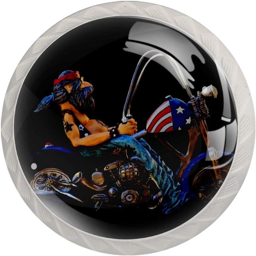 Lenergy Drawer Knobs for Kids Cr Motorcycle Daily Atlanta Mall bargain sale Dresser Pirate