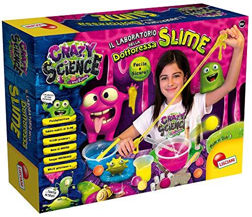 Liscianigiochi- Crazy Science Laboratorio della Dottoressa Slime, Multicolore, 75102