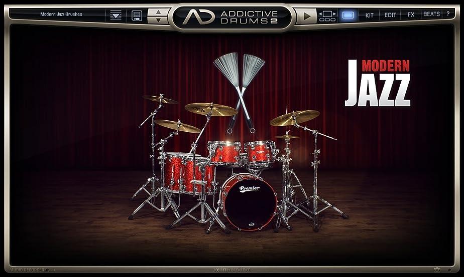 メタリック嵐メモXLN Audio Modern Jazz Brushes Addictive Drums2 専用拡張音源