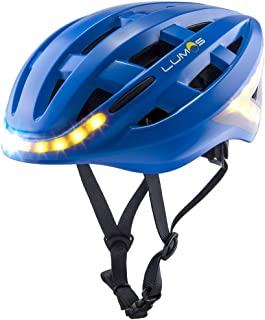 Lumos Smart Bike Helmet with Wireless Turn Signal Handlebar Remote and Built-in Motion Sensor – 70 LEDs on Front, Rear and Sides – CPSC and CE Certified Cycling Helmet