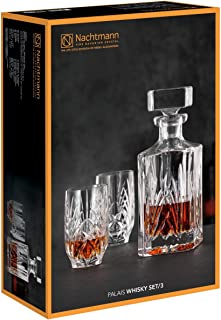 Nachtmann - Whiskyset - Palais - Kristallglas - Karaffe 0,75 l  2 Tumbler