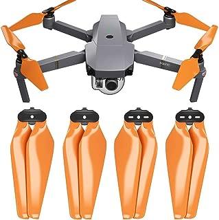 MAS Upgrade Propellers for DJI Mavic Pro & Pro Platinum in Orange - x4 in Set