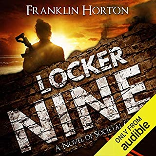 Locker Nine audiobook cover art