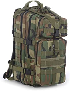 ACSH Tactical Backpack, Outdoor Mountaineering Travel Tactical Backpack, Red (Color : Camouflage)