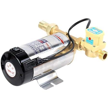 家庭用給湯器ブースターポンプ自動ブースターポンプ加圧水道水ポンプ、自吸式ポンプ (Color : Silver, Size : 150W)