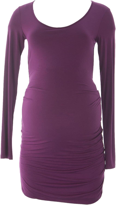 VELVET by Graham & Spencer Women's Maternity Boysenberry Bodycon Dress