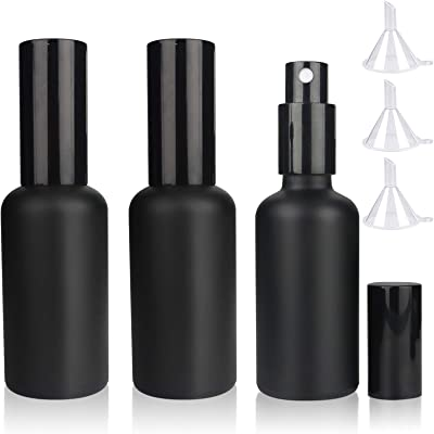 Martini Atomizer Pack of 3, Bar Mister with Refillable Canister and Funnel for Vermouth Spray - SPY3