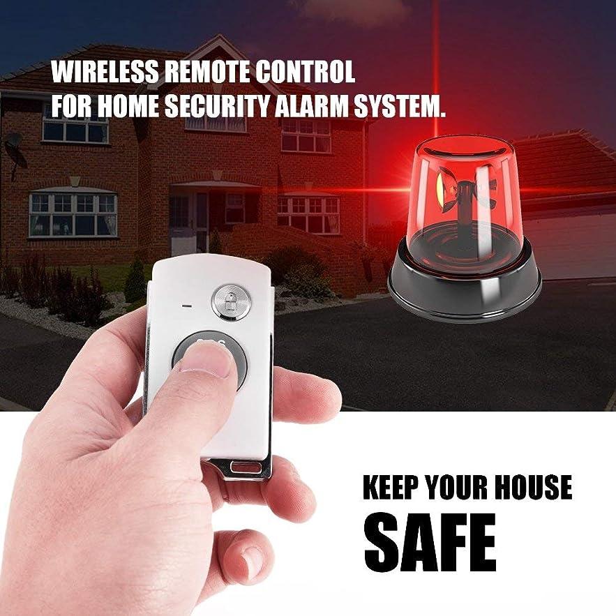 ようこそ神プログラム盗難防止アラーム リモコンアラーム 防犯 無線リモコン ワイヤレス 安全対策 SOS機能付き 遠隔操作 簡単設置 ボタン電池式 配線不要 超軽量
