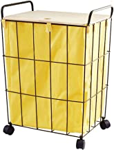 Dirty Clothes Basket Household Waterproof Clothing Storage Frame with Lid Laundry Basket on Wheels Storage Large Capacity Laundry Basket Children Storage Basket,D