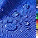 1buy3 'Monaco Wasserdichter Polyester Stoff | 12.000 mm Wassersäule | Farbe 15 | Blau | Polyester Stoff 160cm breit Meterware wasserdicht Outdoor extrem reissfest