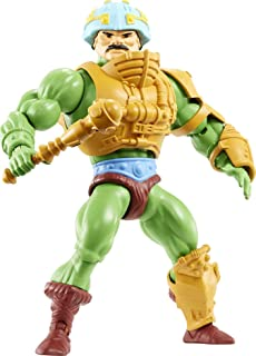 Masters of the Universe Origins Man-at-Arms 5.5-in Action Figure, Battle Figure for Storytelling Play and Display, Gift fo...