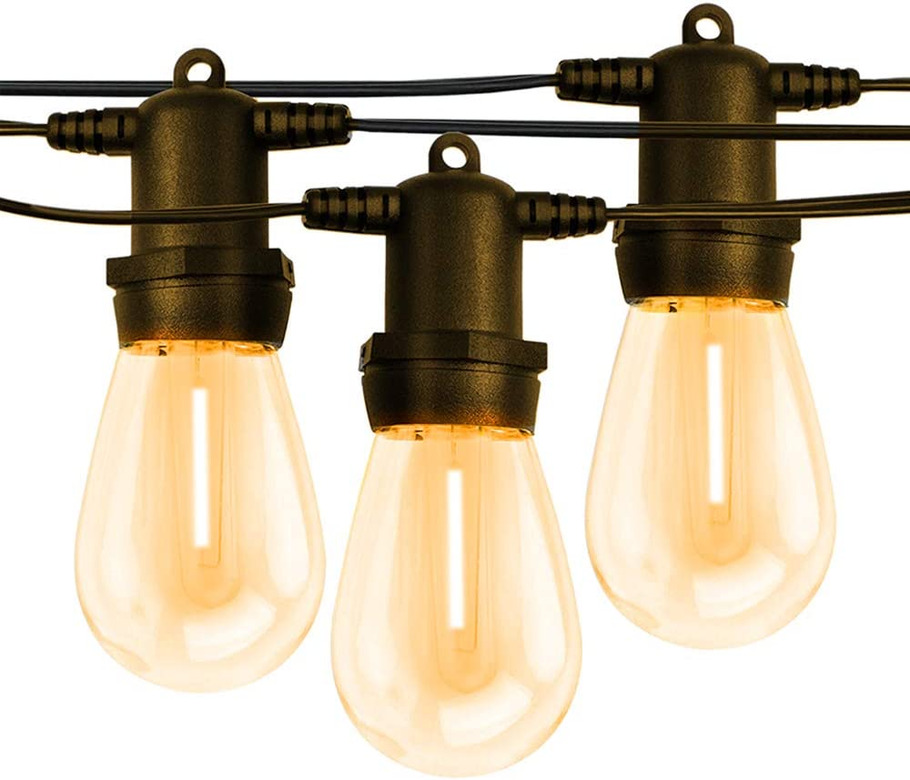 Outdoor String Sales results No. 1 Lights Patio Hanging with Dimmable Max 70% OFF Ligh Light LED
