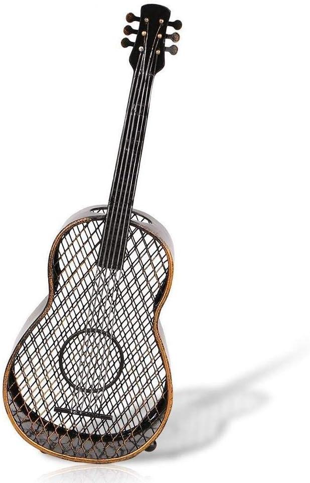 Belissy Guitarra Corcho, Guitarra Vino Shaped Corcho de la Botella de contenedores tapón del Vino Organizador decoración del hogar