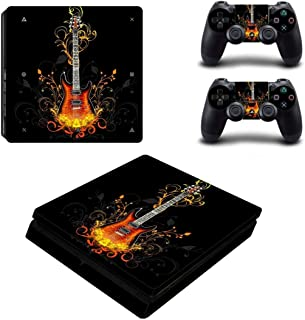 Toys BY060193 Fashion Sticker Icon Protective Film for PS4 Slim