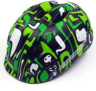 ÉSASAM Kids Bike Helmets – Adjustable from Toddler to Child Size – Durable Kid Multi-Sport Cycling Skating Scooter Helmets with Fun Aesthetic Design Boys and Girls Will Love